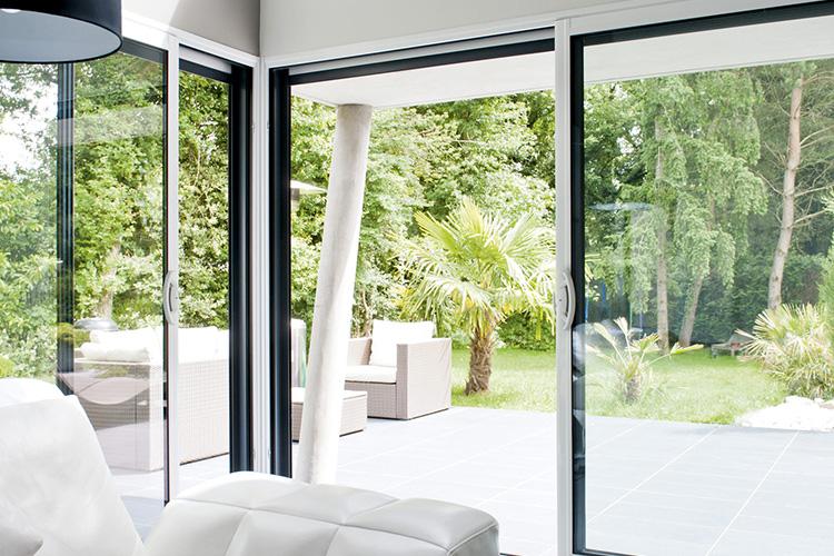 portes fen tres europ alu. Black Bedroom Furniture Sets. Home Design Ideas